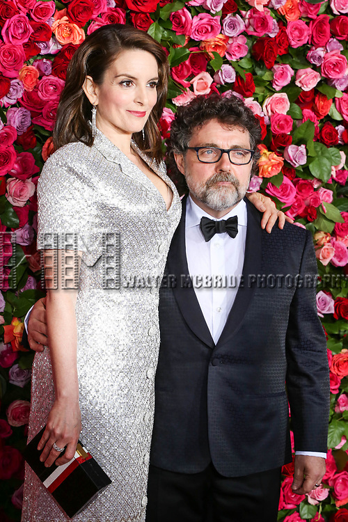 NEW YORK, NY - JUNE 10:  Tina Fey and Jeff Richmond  attend the 72nd Annual Tony Awards at Radio City Music Hall on June 10, 2018 in New York City.  (Photo by Walter McBride/WireImage)