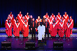 The Virginia Gospel Choir performing at the Gospel Gathering in the TLT. Photo:Colin Bell/pressphotos.ie