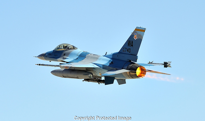 F-16 In Afterburner