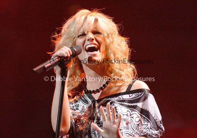Jessica Simpson performs at the102.7 KIIS-FM's 3rd Annual Jingle Ball held at The Staples Center in Los Angeles,California on December 5,2003..(©) Copyright 2003 by RockinExposures