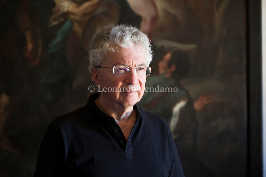 Donald Sassoon è uno storico, scrittore  britannico, professore emerito di Storia Europea Comparata alla Queen Mary University of London. Mantova 5 settembre 2019. Photo Leonardo Cendamo