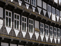 Schneemelcher-Haus von 1562, Marktstr. 5/6, Quedlinburg, Sachsen-Anhalt, Deutschland, Europa, UNESCO-Weltkulturerbe<br /> Schneemelcher house from 1562  in Quedlinburg, Saxony-Anhalt, Germany, Europe, UNESCO World Heritage