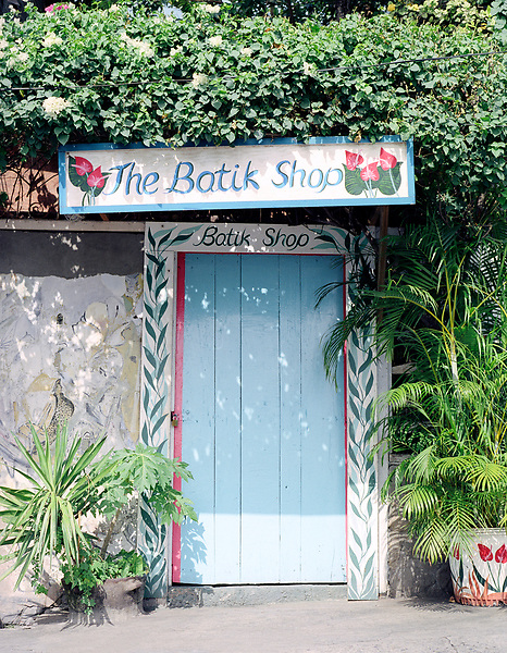 A batik shop in Soufriere. St. Lucia.