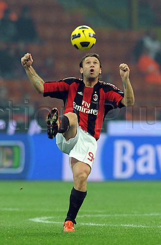 12 02 2011  Antonio Cassano Milan  12 02 2011 Stadio Meazza AC Milan versus Parma  Campionato Italiano Series A 2010 2011