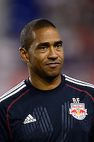 New York Red Bulls assistant coach Robin Fraser. The New York Red Bulls and the Philadelphia Union played to a 0-0 tie during a Major League Soccer (MLS) match at Red Bull Arena in Harrison, NJ, on August 17, 2013.