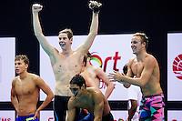 Team United States USA<br /> 4X200 Freestyle Men Relay Final Gold Medal<br /> Day04 28/08/2015 - OCBC Aquatic Center<br /> V FINA World Junior Swimming Championships<br /> Singapore SIN  Aug. 25-30 2015 <br /> Photo A.Masini/Deepbluemedia/Insidefoto