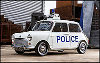 BNPS.co.uk (01202 558833)<br /> Pic:    Bonhams/BNPS<br /> <br /> Perfect for catching small-time criminals...<br /> <br /> A quirky Mini Cooper that was used as a police car in the 1970s has sold at auction for an incredible £31,000.<br /> <br /> Despite being closely associated with thieves in the Italian Job, the white Cooper S was used by the other side of the law.<br /> <br /> The white vehicle formed part of Liverpool & Bootle Constabulary's fleet of cars during a time of high crime levels in the North-West city.