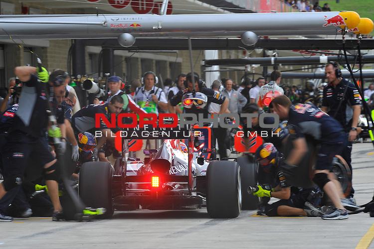 15.-17.11.2013, Circuit of The Americas, Austin, USA, FIA, Formel 1, United States Grand Prix, Qualifikation, im Bild  Mark Webber (AUS), Red Bull Racing <br />  Foto &copy; nph / Mathis