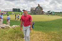 Paul Casey (GBR) approaches the first tee during Saturday's round 3 of the 117th U.S. Open, at Erin Hills, Erin, Wisconsin. 6/17/2017.<br /> Picture: Golffile | Ken Murray<br /> <br /> <br /> All photo usage must carry mandatory copyright credit (&copy; Golffile | Ken Murray)