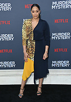 "10 June 2019 - Westwood, California - Tia Mowry-Hardrict. Netflix's ""Murder Mystery"" Los Angeles Premiere held at Regency Village Theater. Photo Credit: Birdie Thompson/AdMedia"