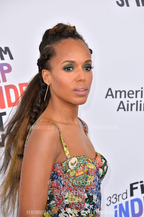 Kerry Washington at the 2018 Film Independent Spirit Awards on the beach in Santa Monica, USA 03 March 2018<br /> Picture: Paul Smith/Featureflash/SilverHub 0208 004 5359 sales@silverhubmedia.com