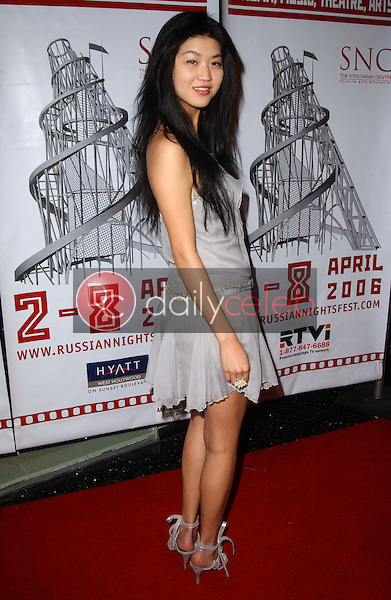 Emily Wang<br />at &quot;Russian Nights&quot; Festival Closing Night Gala. Pacific Design Center, Los Angeles, CA. 04-08-06<br />Dave Edwards/DailyCeleb.com 818-249-4998