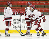 Margaret Chute (Harvard - 7), Sarah Edney (Harvard - 3), Marissa Gedman (Harvard - 16) - The visiting Dartmouth College Big Green defeated the Harvard University Crimson 3-2 on Wednesday, November 23, 2011, at Bright Hockey Center in Cambridge, Massachusetts.