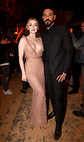 """LOS ANGELES - AUGUST 27: (L-R) Sarah Bolger and Clayton Cardenas attend the post party at Sunset Room Hollywood following the season two red carpet premiere of FX's """"Mayans M.C"""" on August 27, 2019 in Los Angeles, California. (Photo by Frank Micelotta/FX/PictureGroup)"""