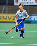AMSTELVEEN -  Eline Jansen (Kampong)  finale Kampong MB1-Amsterdam MB1. AMSTERDAM MB1 wint de titel Meisjes B. finales A en B jeugd  Nederlands Kampioenschap.  COPYRIGHT KOEN SUYK