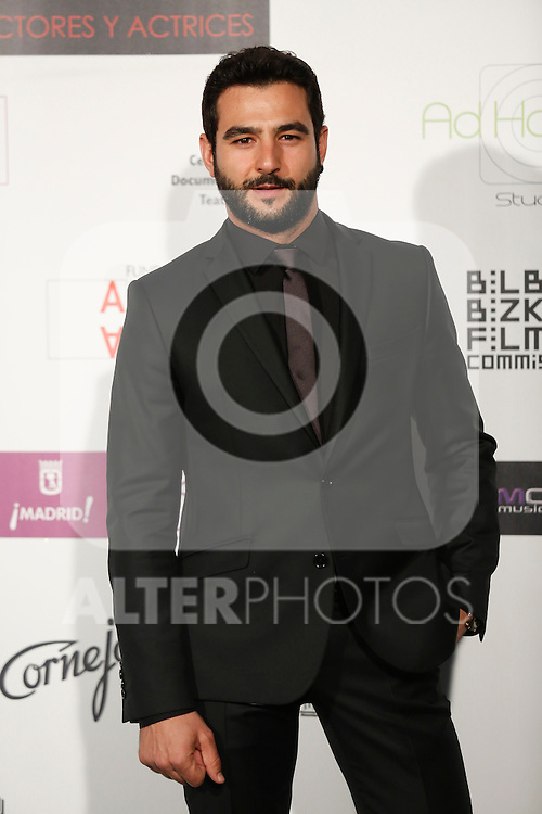 Antonio Velazquez attends the `Union de actores Awards´ ceremony in Madrid, Spain. March 14, 2016. (ALTERPHOTOS/Victor Blanco)