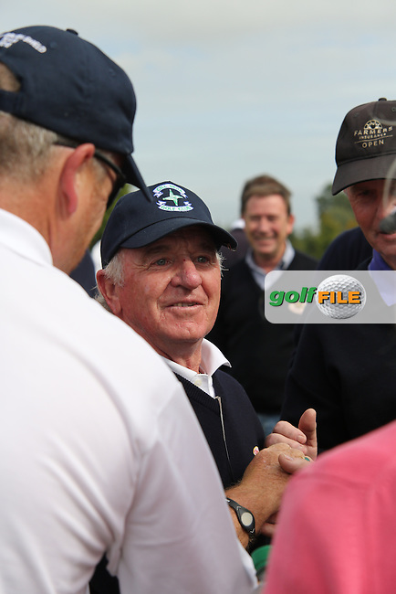 Christy Roche (Cill Dara) after sinking the winning putt against Athenry during the AIG Jimmy Bruen Shield Final at Carton House.17/9/16<br /> <br /> Picture: Golffile | Jenny Matthews<br /> <br /> <br /> All photo usage must carry mandatory copyright credit (&copy; Golffile | Jenny Matthews)