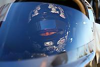 Feb 4, 2016; Chandler, AZ, USA; NHRA top fuel driver Dave Connolly during pre season testing at Wild Horse Pass Motorsports Park. Mandatory Credit: Mark J. Rebilas-USA TODAY Sports