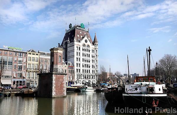 Nederland Rotterdam 26 maart  2018. Het Witte Huis bij de Oude Haven. Foto Berlinda van Dam / Hollandse Hoogte