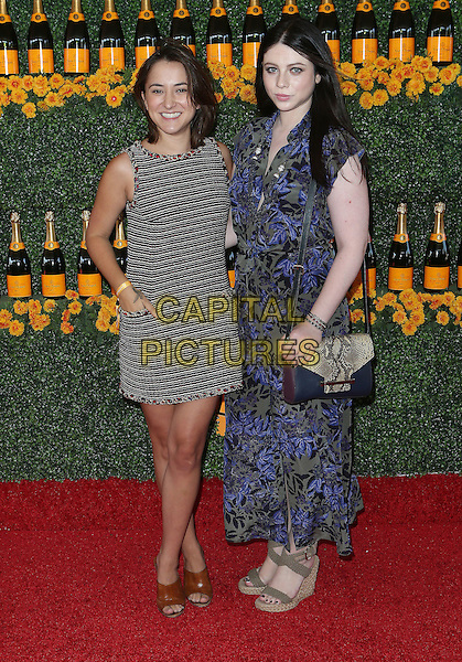 17 October 2015 - Pacific Palisades, California - Zelda Williams, Michelle Trachtenberg. Sixth-Annual Veuve Clicquot Polo Classic, Los Angeles held at Will Rogers State Historic Park. <br /> CAP/ADM/FS<br /> &copy;FS/ADM/Capital Pictures