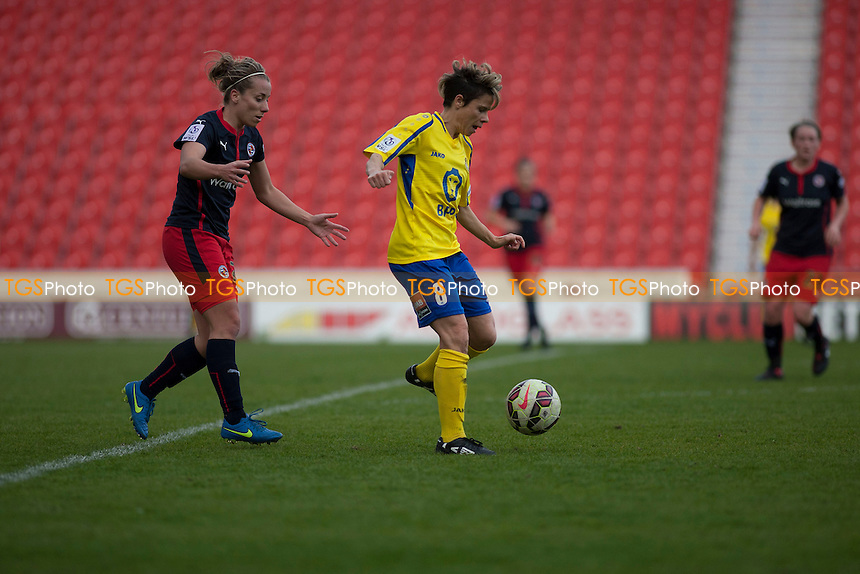 Sue Smith (Doncaster Belles)<br />   - Doncaster Rovers Belles vs Reading Women - FA Womens Super League 2 Football at the Keepmoat Stadium, Doncaster Rovers FC - 16/05/15 - MANDATORY CREDIT: Mark Hodsman/TGSPHOTO - Self billing applies where appropriate - contact@tgsphoto.co.uk - NO UNPAID USE