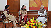 06.03.2015; New Delhi, India: MARTINA HINGIS AND LEANDER PAES MEET PM NARENDRA MODI<br />Martina wearing a traditional Indian Salwar Kameez and Leander presented autographed racquets with which they used during the Australian Open Mixed Doubles Finals to the Prime Minister Narendra Modi.<br />Mandatory Credit Photos: NEWSPIX INTERNATIONAL<br /><br />**ALL FEES PAYABLE TO: &quot;NEWSPIX INTERNATIONAL&quot;**<br /><br />PHOTO CREDIT MANDATORY!!: NEWSPIX INTERNATIONAL(Failure to credit will incur a surcharge of 100% of reproduction fees)<br /><br />IMMEDIATE CONFIRMATION OF USAGE REQUIRED:<br />Newspix International, 31 Chinnery Hill, Bishop's Stortford, ENGLAND CM23 3PS<br />Tel:+441279 324672  ; Fax: +441279656877<br />Mobile:  0777568 1153<br />e-mail: info@newspixinternational.co.uk