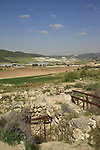 Israel, Shephelah, the entrance to an Iron Age water reservoir in Tel Beth Shemesh