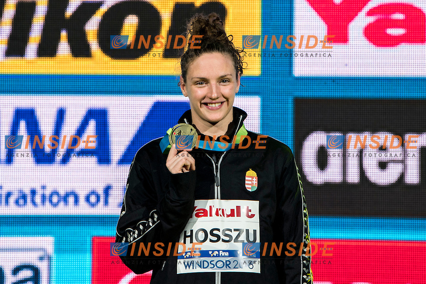 HOSSZU Katinka HUN Gold Medal<br /> Women's 200m Individual Medley<br /> 13th Fina World Swimming Championships 25m <br /> Windsor  Dec. 10th, 2016 - Day05 Final<br /> WFCU Centre - Windsor Ontario Canada CAN <br /> 20161210 WFCU Centre - Windsor Ontario Canada CAN <br /> Photo &copy; Giorgio Scala/Deepbluemedia/Insidefoto