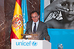 Spanish Minister Alfonso Alonso attends UNICEF Spain Awards ceremony in Madrid, Spain. June 23, 2015. (ALTERPHOTOS/Victor Blanco)