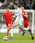 Real Madrid's Alvaro Morata during La Liga Match. February 10, 2013. (ALTERPHOTOS/Alvaro Hernandez)