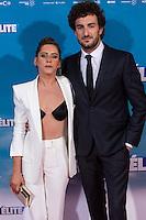 "Spanish actress Maria Leon and Miki Esoarbe during the premiere of ""Cuerpo de Elite"" at Capitol cinema. Madrid. August 25, 2016. (ALTERPHOTOS/Rodrigo Jimenez) /NORTEPHOTO"