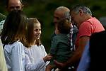 Princess Leonor of Spain visit the Enol lake in Asturias, Spain. September 08, 2018. (ALTERPHOTOS/A. Perez Meca)