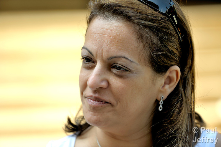 Najla Chahda, director of the Caritas Lebanon Migrant Center, which is funded by Catholic Relief Services, the relief and development agency of the U.S. Catholic community.