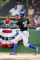 June 24, 2009: Kyler Burke of the Peoria Chiefs at the 2009 Midwest League All Star Game at Alliant Energy Field in Clinton, IA.  Photo by: Chris Proctor/Four Seam Images