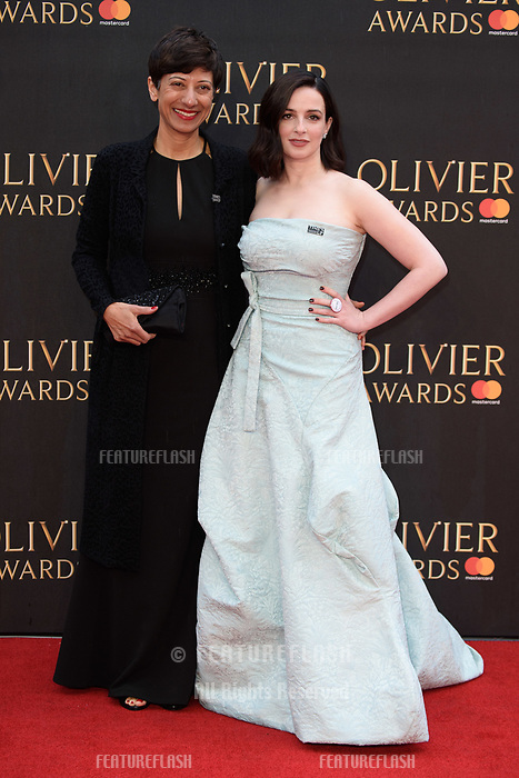 Laura Donnelly arriving for the Olivier Awards 2018 at the Royal Albert Hall, London, UK. <br /> 08 April  2018<br /> Picture: Steve Vas/Featureflash/SilverHub 0208 004 5359 sales@silverhubmedia.com