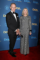 LOS ANGELES - FEB 2:  Bo Welch, Catherine O'Hara at the 2019 Directors Guild of America Awards at the Dolby Ballroom on February 2, 2019 in Los Angeles, CA