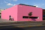 Pink Building, Melrose Ave. West Hollywood, 2012