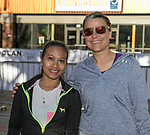 Emely Villamor and Kelly Mendoza during the Downtown River Run on Sunday, April 30, 2017 in Reno, Nevada.
