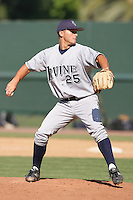 June 5, 2010: Matt Summers of UC Irvine during NCAA Regional game against Kent State at Jackie Robinson Stadium in Los Angeles,CA.  Photo by Larry Goren/Four Seam Images
