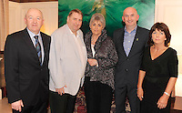 Donie O'Brien, Eno Wine, Matt and Kate Muller, Abbey Court Hotel, Nenagh, David Byrne, Great National Hotels  and Carmel Whelan, Eno Wine,  at the Irish Hotels Federation Conference 'President's Dine Around' event in The  Killarney Park Hotel  on Monday  night. Picture: MacMonagle, Killarney