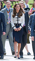 Kate, Duchess of Cambridge Visits Bletchley Park - UK