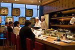 Sushi restaurant in Norita, Japan airport.