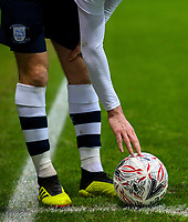 Preston North End's Paul Gallagher prepares to take a corner<br /> <br /> Photographer Alex Dodd/CameraSport<br /> <br /> The Emirates FA Cup Third Round - Preston North End v Doncaster Rovers - Sunday 6th January 2019 - Deepdale Stadium - Preston<br />  <br /> World Copyright &copy; 2019 CameraSport. All rights reserved. 43 Linden Ave. Countesthorpe. Leicester. England. LE8 5PG - Tel: +44 (0) 116 277 4147 - admin@camerasport.com - www.camerasport.com