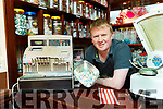 Niall O'Loughlin from Charlies Auld Sweet Shop Main St Killarney
