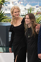 Nicole Kidman &amp; Alice Englert at the photocall for &quot;Top of the Lake: China Girl&quot; at the 70th Festival de Cannes, Cannes, France. 23 May 2017<br /> Picture: Paul Smith/Featureflash/SilverHub 0208 004 5359 sales@silverhubmedia.com