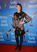 LOS ANGELES, CA. February 17, 2019: Lindsey Kraft at the 2019 Writers Guild Awards at the Beverly Hilton Hotel.<br /> Picture: Paul Smith/Featureflash