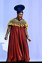 "PHOTOS ARE EMBARGOED UNTIL 19:30 28TH SEPTEMBER 2017.  English National Opera presents Verdi's ""Aida"", directed by Phelim McDermott, at the London Coliseum. Picture shows: Latonia Moore (Aida)"