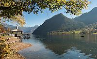 Austria, Styrian Salzkammergut, Grundl Lake: autumn scenery | Oesterreich, Steyrisches Salzkammergut, Grundlsee: Herbststimmung