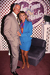 Lyle Waggoner and wife Sharon Kennedy attend the N.A.T.P.E. convention on January, 15, 1994 in Miami, Florida,