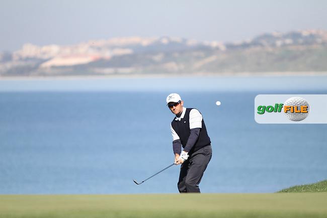 Ignacio Garrido (ESP) on the 18th on the 1st Day of the 2012 Sicilian Open at Verdura Golf and Spa Resort...(Photo Jenny Matthews/www.golffile.ie)